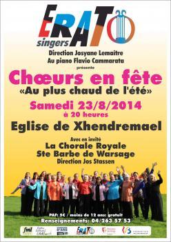 Concert Xhendremael 23-8-2014