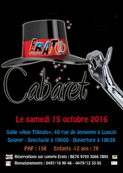 Affiche cabaret 2016