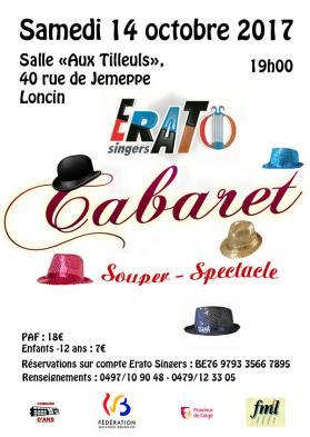 Affiche cabaret 2017