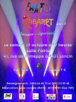 Affiche cabaret 2019