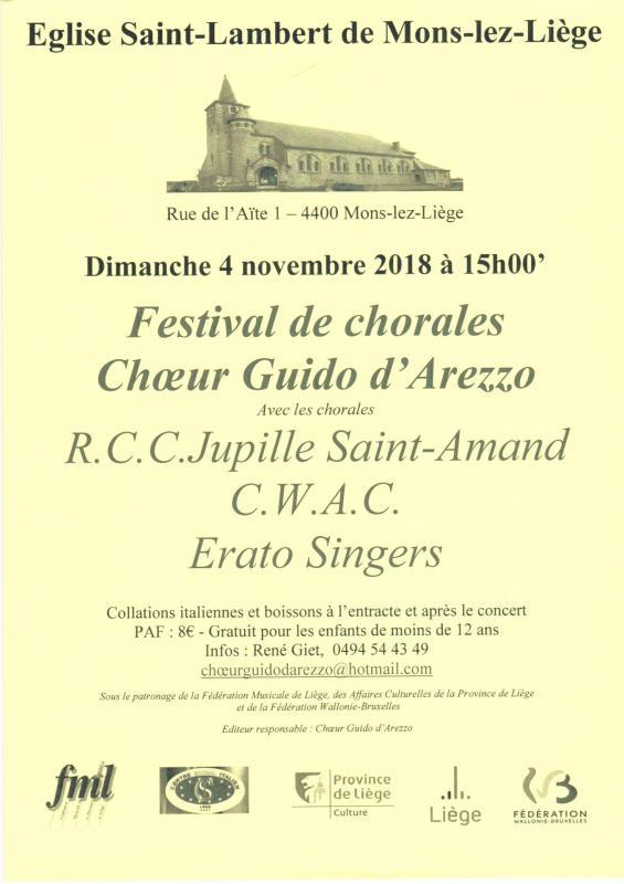 Festival de chorales Choeur Guido d'Arezzo