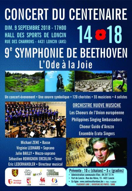 Concert du centenaire 2018