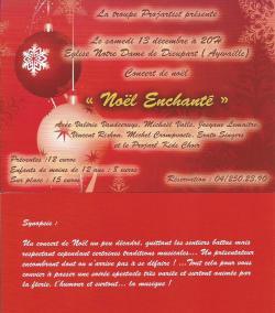 Noël enchanté église de Dieupart 13-12-14