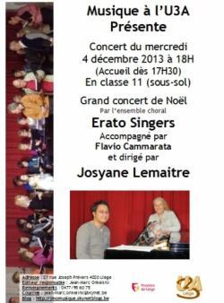 Concert U3A 4-12-2013