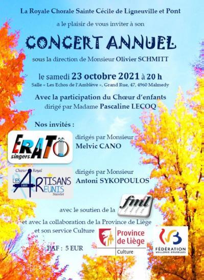 Affiche concert ligneuville